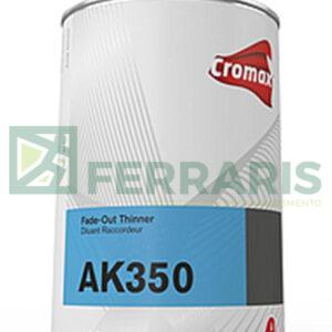 CROMAX AK350 DILUANT 1 LITRE TEINTES