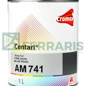 CROMAX AM741 CENTARI BASE FINE SATIN BLUE PEARL LITRI 1