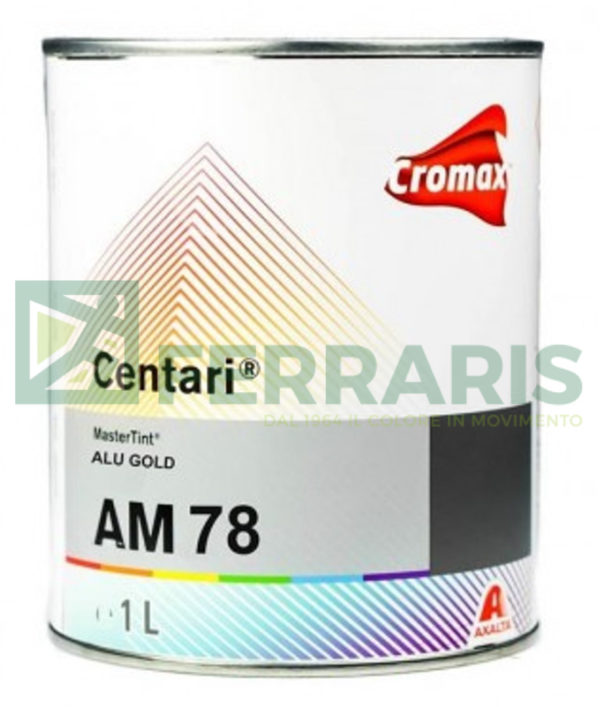 CROMAX AM78 CENTARI BASE ALU GOLD LITRI 1