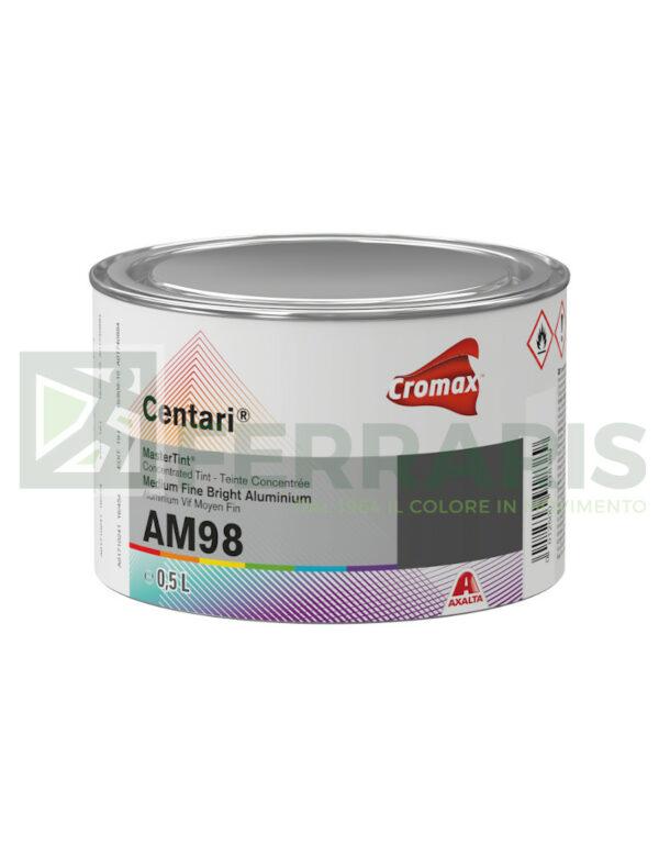 CROMAX AM98 CENTARI BASE MEDIUM FINE BRIGHT ALUMINIUM LITRI 0,5