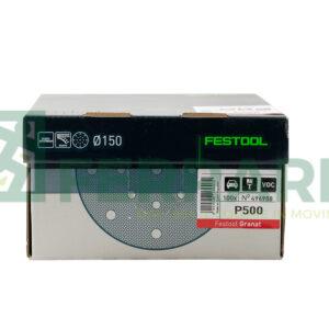 FESTOOL 496988 DISCHI ABRASIVI GRANAT P500 PEZZI 100