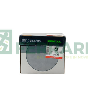 FESTOOL 499089 DISCHI ABRASIVI DIAMETRO 115 mm P120 PEZZI 50