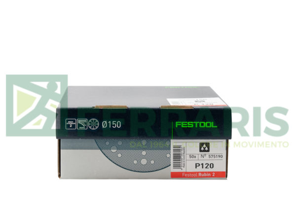FESTOOL 575190 DISCHI ABRASIVI D150 P120 PEZZI 50