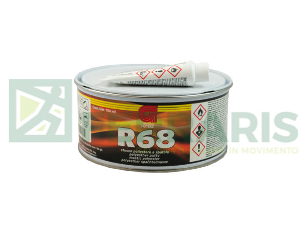 GELSON STUCCO POLIESTERE R68 LIGHT BEIGE 750 ML CON INDURITORE