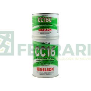 GELSON 157CC16 TRASPARENTE UHS CC16 ESSICAZIONE RAPIDA 1 LITRO CON CATALIZZATORE