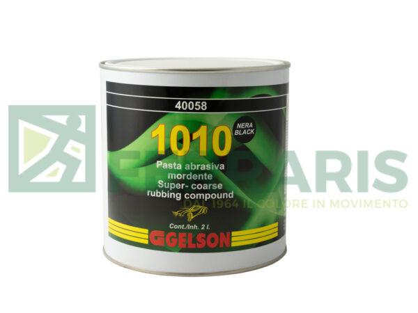 GELSON 40058 PASTA ABRASIVA 1010 NERA LITRI 2