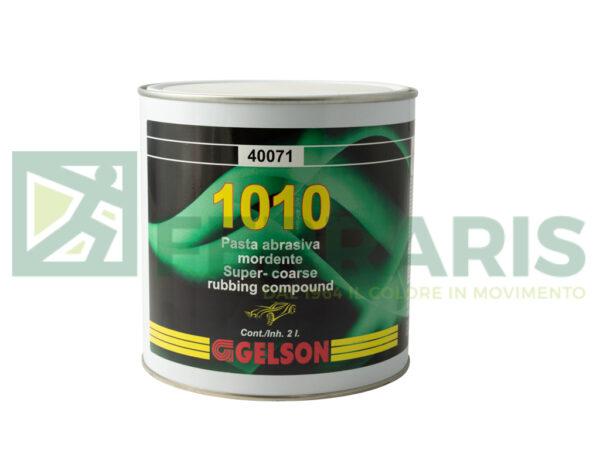 GELSON 40071 PASTA ABRASIVA 1010 BIANCA LITRI 2