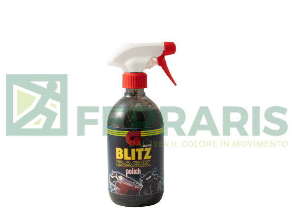 GELSON 45610 POLISH BLITZ  NERO 500 ML