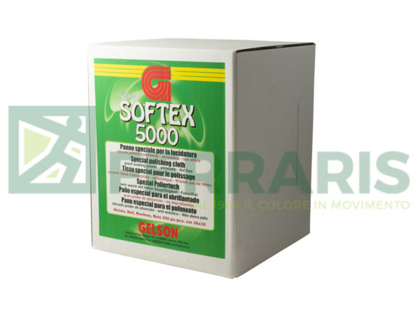 GELSON 48110 ROTOLO DA 250 PANNI DI LUCIDATURA SOFTEX 5000