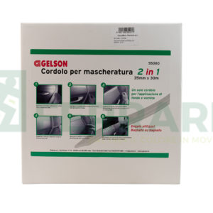 GELSON 55080 CORDOLO PER MASCHERATURA