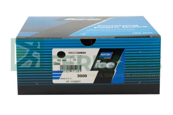NORTON DISCHI ICE Q255 DIAMETRO 150 P3000 PEZZI 15