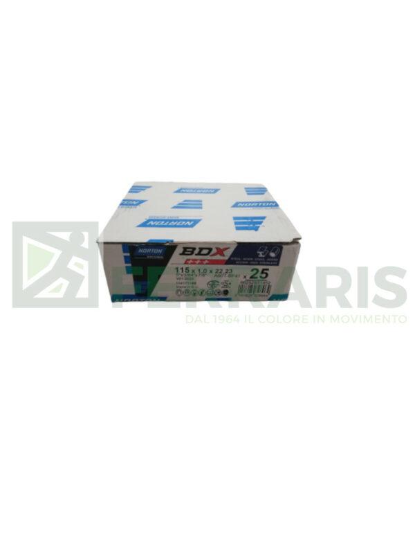 NORTON 31452 DISCHI BDX 115X1X22.2 PEZZI 25