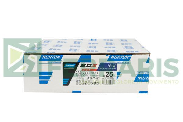 NORTON DISCHI BDX 230 x 1.9 x 22.2 PEZZI 25