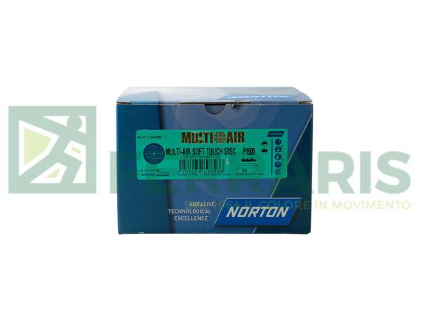 NORTON DISCHI  MULTI AIR SOFT TOUCH P1500 PEZZI 20