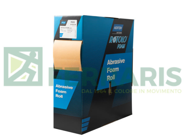 NORTON ROTOLO SOFT GRANA P600 115MM X 25 MT