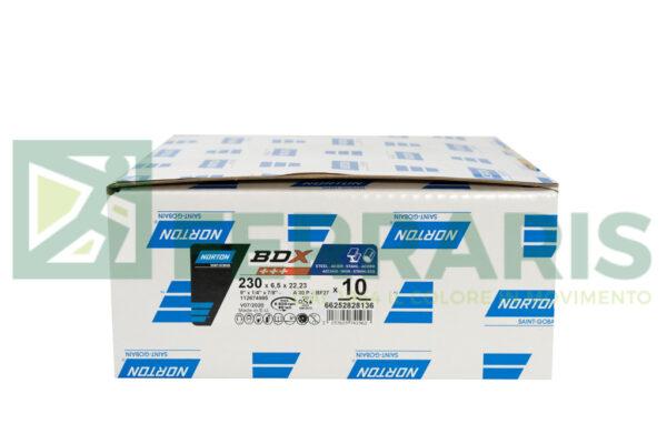 NORTON DISCHI BDX 230X6,5X22,23 PEZZI 10
