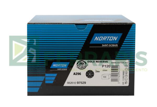 NORTON DISCHI GOLD RESERVE A296 P120 PEZZI 100