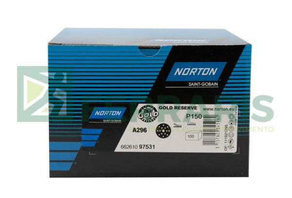 NORTON DISCHI GOLD RESERVE A296 P150 PEZZI 100
