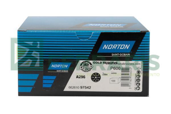 NORTON DISCHI GOLD RESERVE A296 P600 PEZZI 100