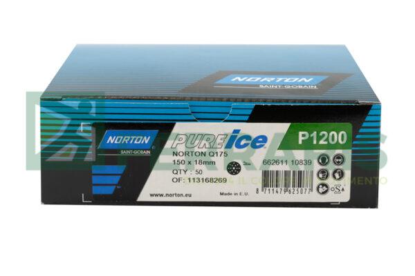 NORTON DISCHI PURE ICE VERDI P1200 PEZZI 50