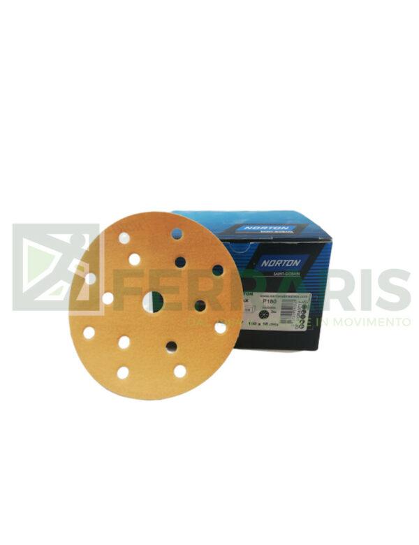 NORTON DISCHI ABRASIVI ADALOX A295 P180 PEZZI 100