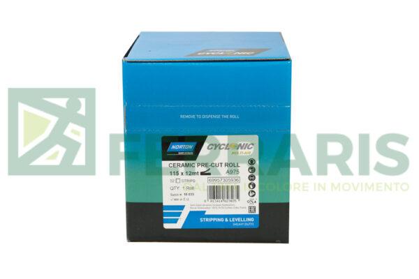 NORTON ROTOLO CYCLONYC A975  BLUE 115 X 12 METRI PEZZI 1