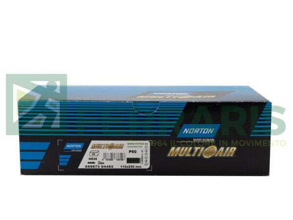 NORTON STRISCE ABRASIVE NORZON 115X230 MM P60 PEZZI 50