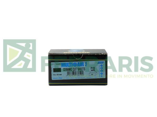 NORTON STRISCE ABRASIVE MULTI AIR PLUS A975 70 X 125 MM P120 PEZZI 50