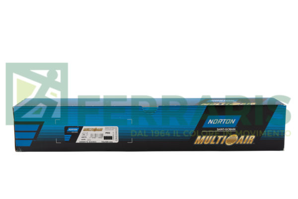 NORTON STRISCE ABRASIVE MULTI AIR PLUS A975 70 X 420 MM P80 PEZZI 50