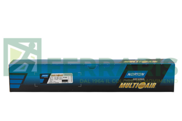 NORTON STRISCE ABRASIVE MULTI AIR PLUS A975 70 X 420 MM P150 PEZZI 50