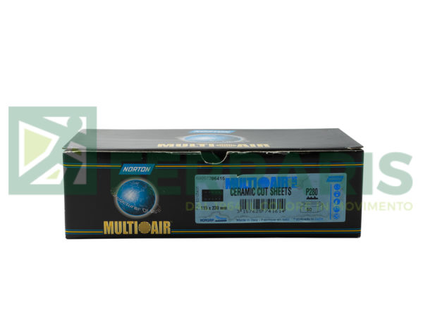 NORTON MEZZI FOGLI CERAMICATI 115 MM X 230 MM P280 PEZZI 50