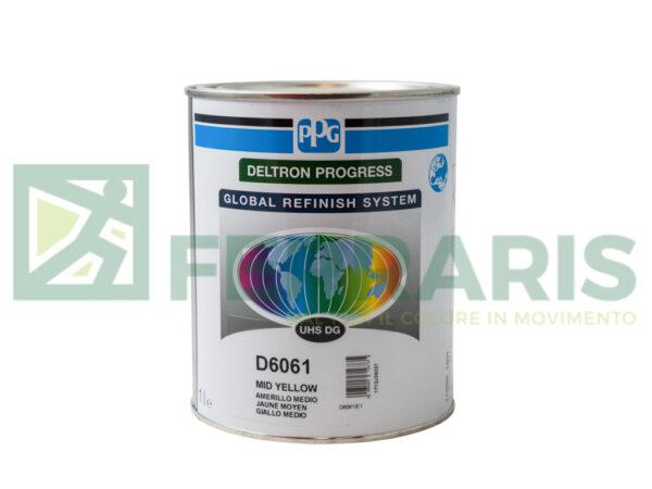 PPG D6061 DELTRON UHS D6061 MIDE YELLOW LITRI 1