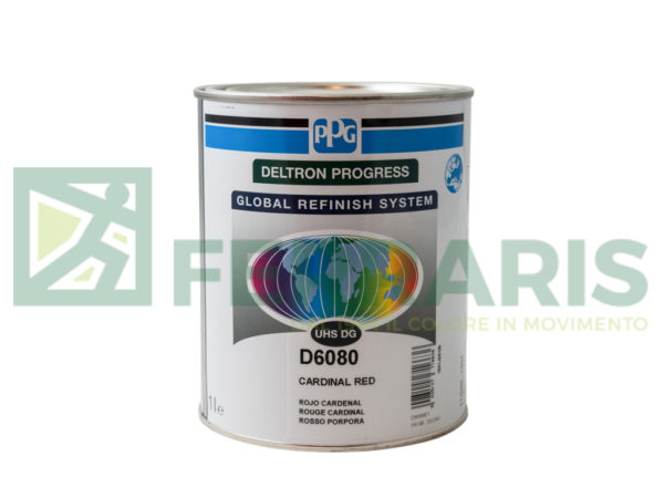PPG D6080 DELTRON UHS CARDINAL RED LITRI 1