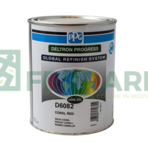 PPG D6082 DELTRON CORAL RED LITRI 1