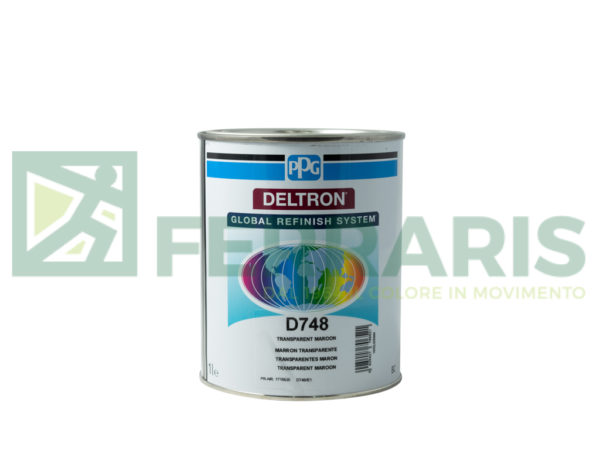 PPG D748 DELTRON BC MAROON LITRI 1