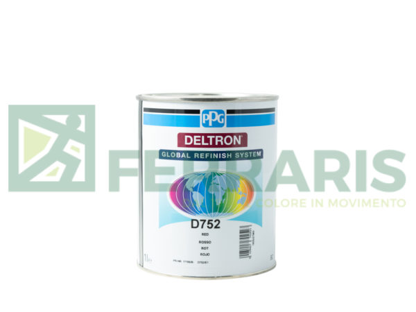 PPG D752 DELTRON BC RED LITRI 1