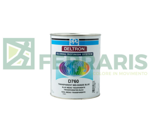 PPG D760 DELTRON BC MID-SHADE BLUE LITRI 1