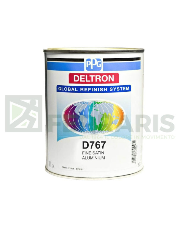 PPG D767 DELTRON GRS BC FINE SATIN ALUMINIUM LITRI 1