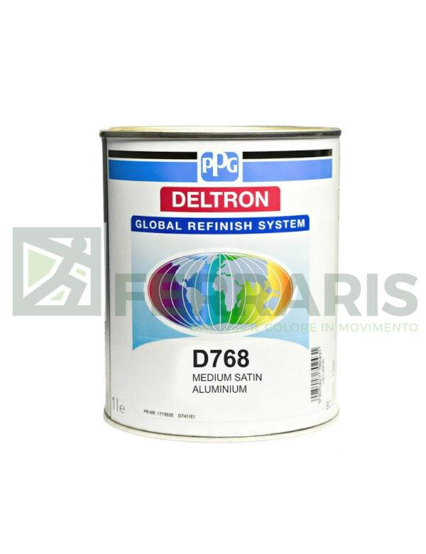 PPG D768 DELTRON GRS BC MEDIUM SATIN ALUMINIUM LITRI1