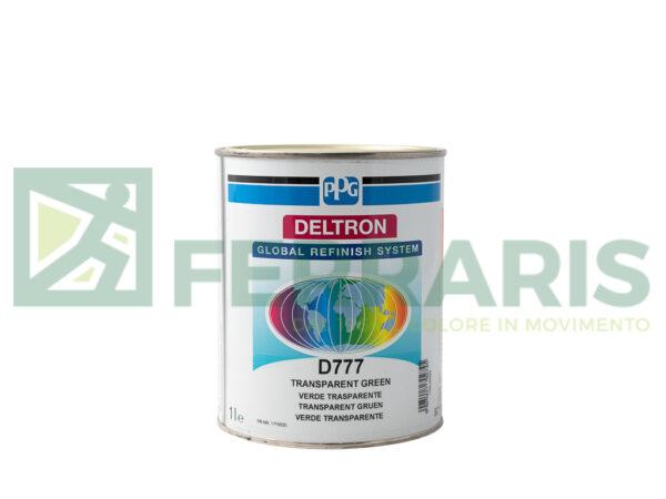 PPG D777 DELTRON BC GREEN TRANSP LITRI 1