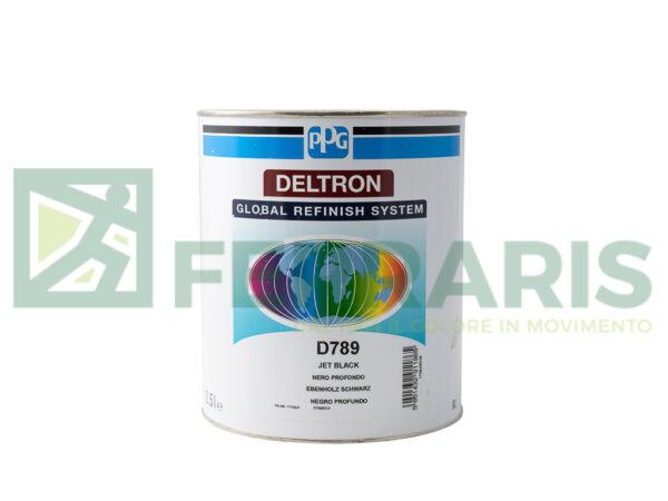 PPG D789 DELTRON BC JET BLACK  LITRI 3.5