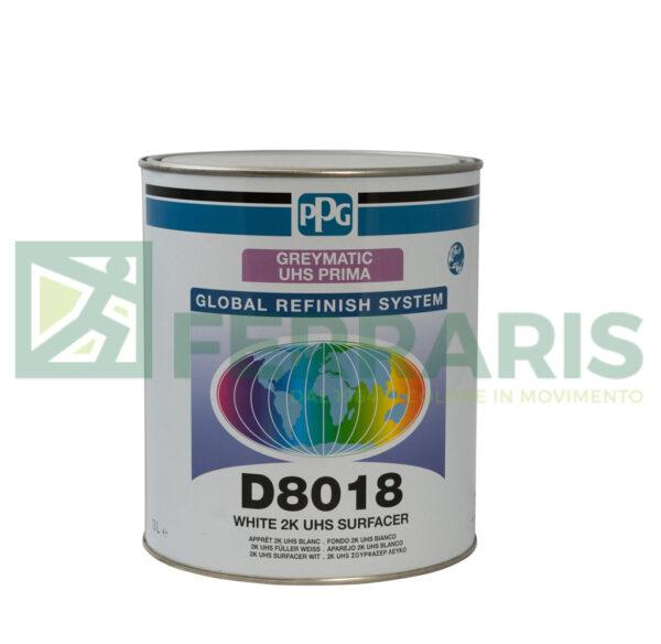 PPG D8018 FONDO HS RAPID GREYMATIC-BIANCO G1 LITRI 3
