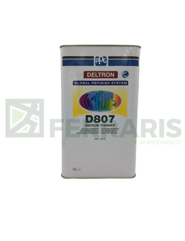 PPG D807 DELTRON DILUENTE MEDIUM D807 LITRI 5