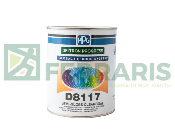 PPG D8117 TRASPARENTE SEMI-LUCIDO LITRI 1