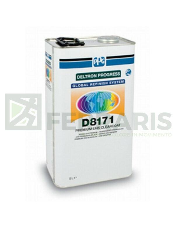 PPG D8171 TRASPARENTE PREMIUM UHS LITRI 5