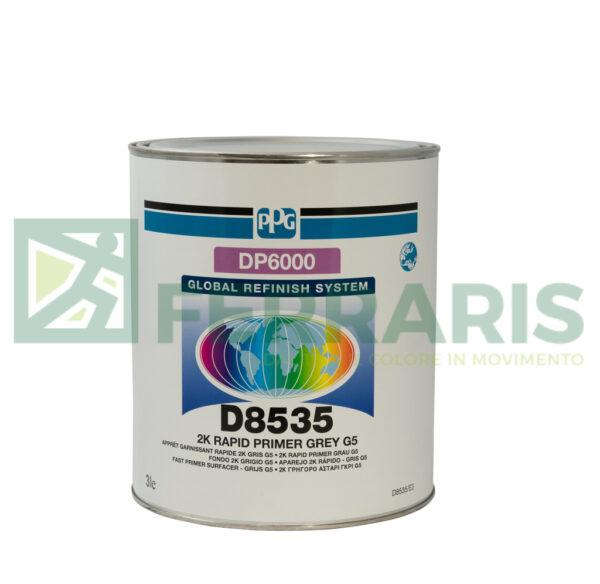 PPG D8535 FONDO 2K GRIGIO DP6000 LITRI 3