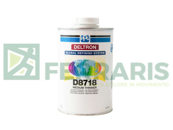 PPG D8718 DILUENTE NORMALE LITRI 1