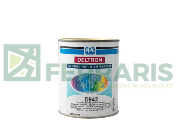 PPG D942 DELTRON BC GRAPHITE BLACK LITRI 1