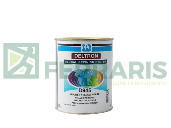 PPG D945 DELTRON BC YELLOW PEARL LITRI 1