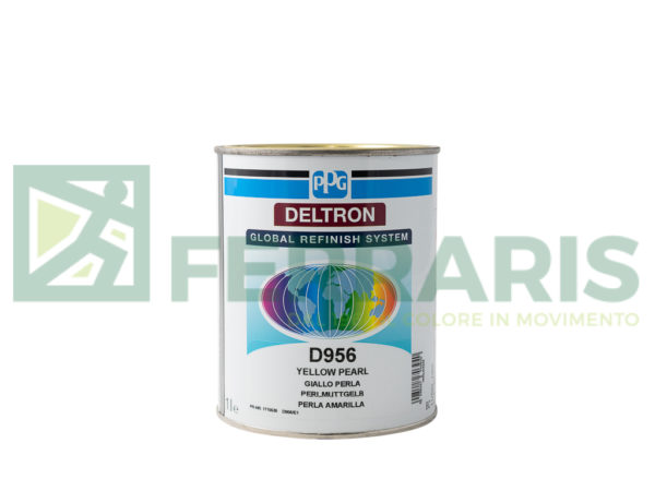 PPG D956 DELTRON BC YELLOW PEARL LITRI 1